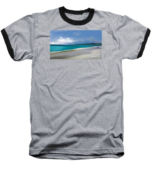 A Summer Day Baseball T-Shirt by Anthony Fishburne