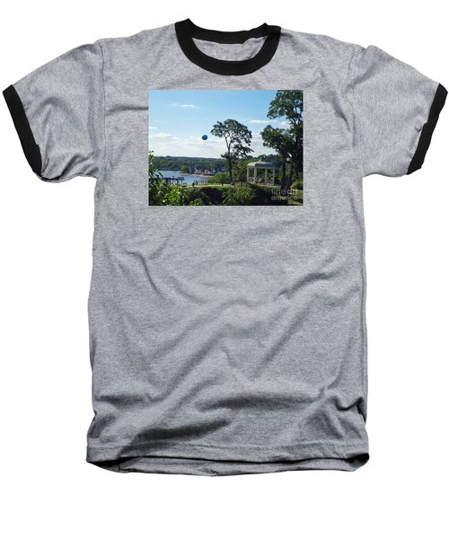 Baseball T-Shirt featuring the photograph A Summer Day by Lyric Lucas