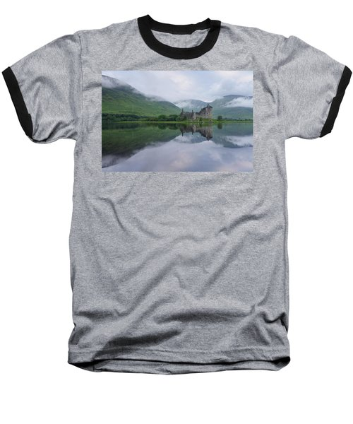 A Summers Morning At Kilchurn Baseball T-Shirt