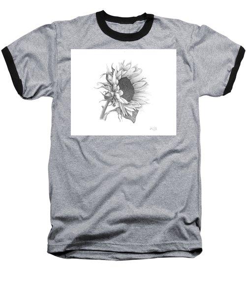 A Sunflowers Beauty Baseball T-Shirt by Patricia Hiltz