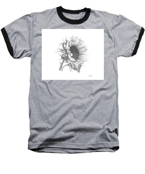 A Sunflowers Beauty Baseball T-Shirt
