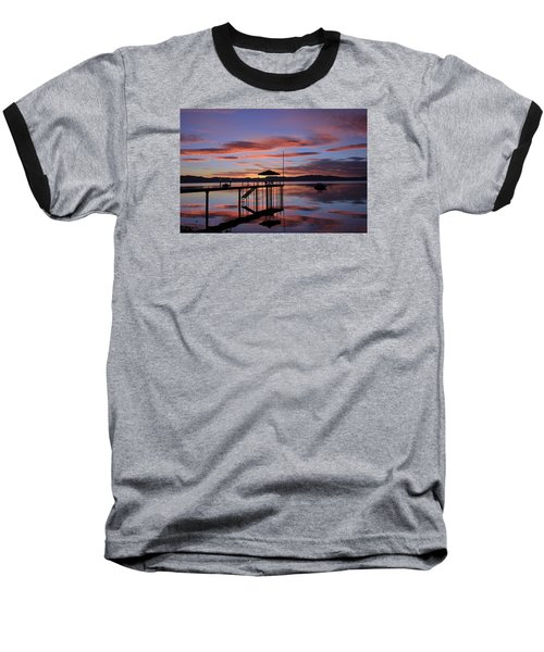 Baseball T-Shirt featuring the photograph A Sunrise To Wake The Dead  by Sean Sarsfield