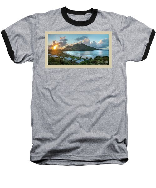 A Sunset On Bay Baseball T-Shirt