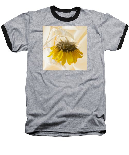 A Suspended Sunflower Baseball T-Shirt