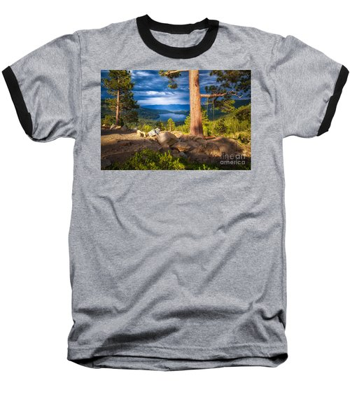 A Swing With A View Baseball T-Shirt