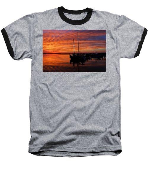 A Tarpon Tryst Baseball T-Shirt