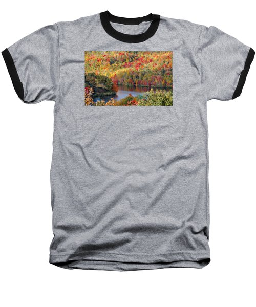 A Tennessee Autumn Baseball T-Shirt by Debbie Karnes