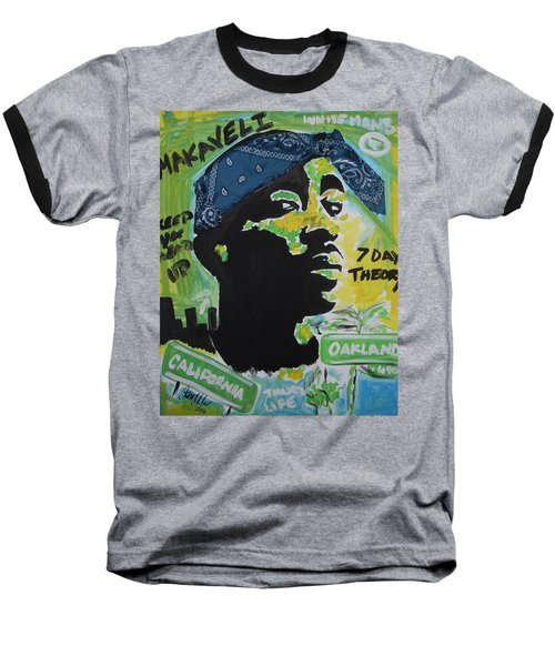 A Thugs Mind Baseball T-Shirt