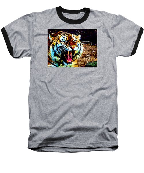 A Tiger's Roar Baseball T-Shirt