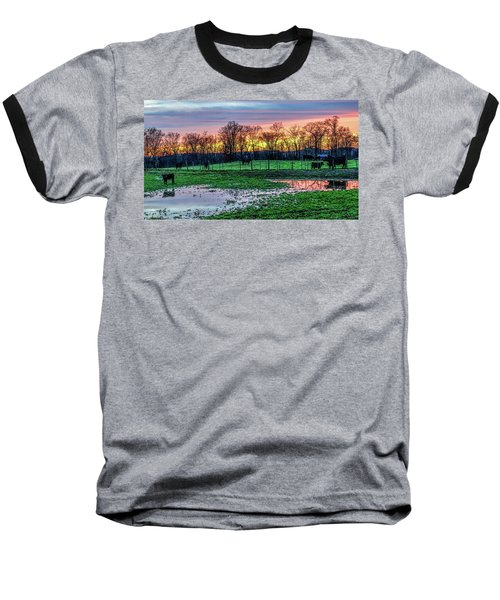 A Time For Reflection Baseball T-Shirt