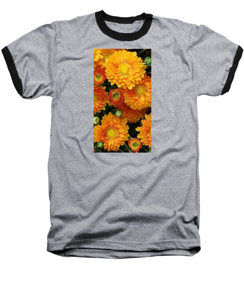 Baseball T-Shirt featuring the photograph A Touch Of Autumn by Bruce Bley