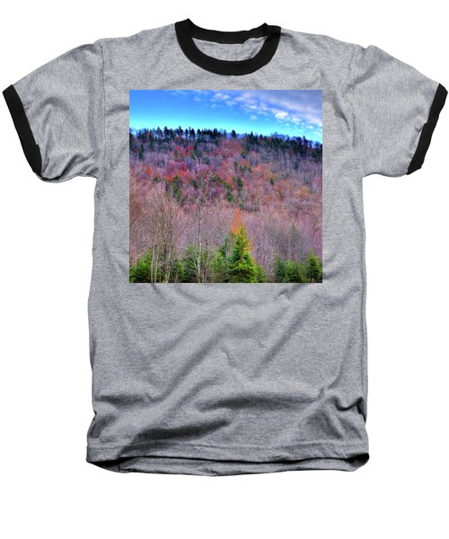 Baseball T-Shirt featuring the photograph A Touch Of Autumn by David Patterson