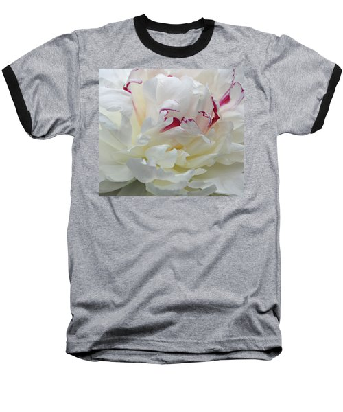 Baseball T-Shirt featuring the photograph A Touch Of Color by Sandy Keeton