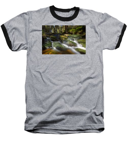 A Touch Of Light Baseball T-Shirt by Andreas Levi