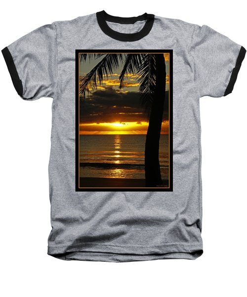 A Touch Of Paradise Baseball T-Shirt by Holly Kempe