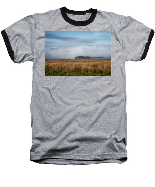 Baseball T-Shirt featuring the photograph A Touch Of Snow by Jeremy Lavender Photography