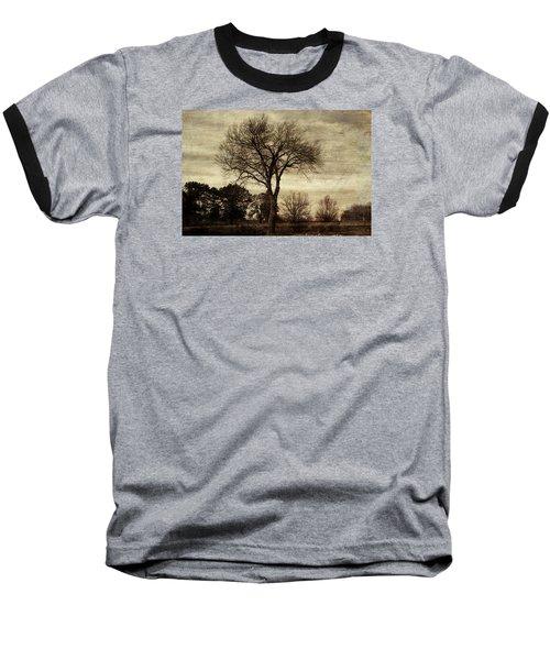 A Tree Along The Roadside Baseball T-Shirt