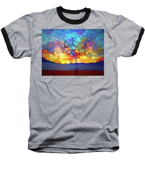 Baseball T-Shirt featuring the digital art A Tree For A New Season by Tara Turner