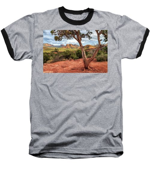 A Tree In Sedona Baseball T-Shirt