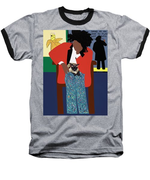 A Tribute To Jean-michel Basquiat Baseball T-Shirt