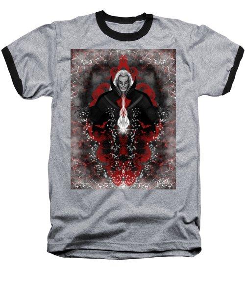A Vampire Quest Fantasy Art Baseball T-Shirt