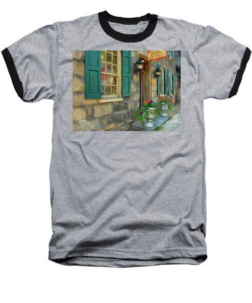 A Victorian Tea Room Baseball T-Shirt