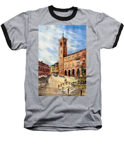 A View From Fabriano Baseball T-Shirt