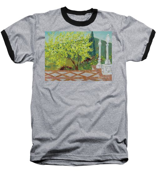 A View From Hearst Castle Baseball T-Shirt