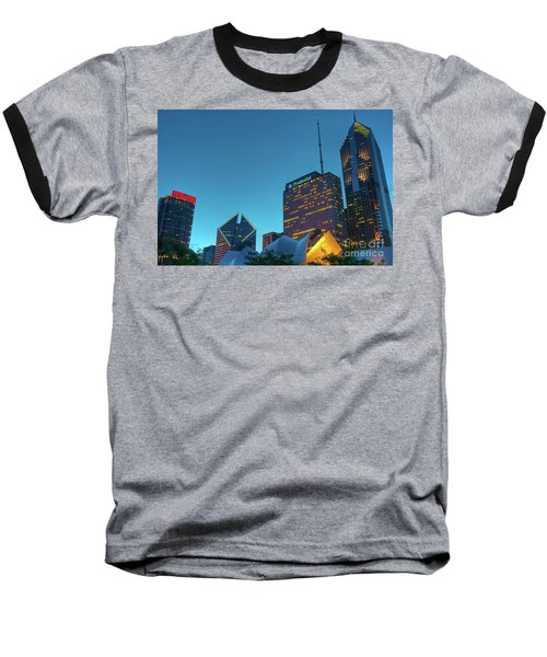 A View From Millenium Park Baseball T-Shirt