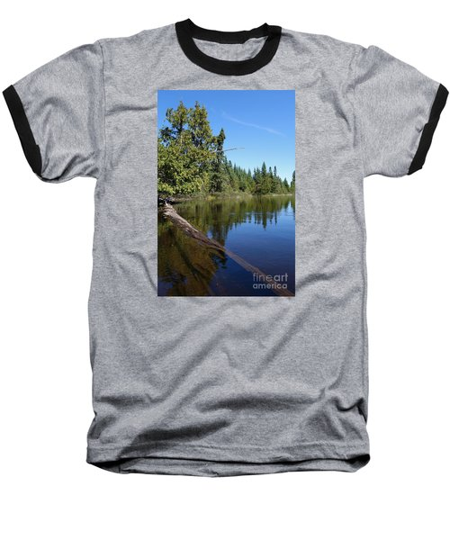 Baseball T-Shirt featuring the photograph A View From My Kayak by Sandra Updyke
