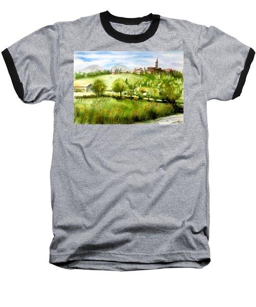 A View From Tuscany Baseball T-Shirt