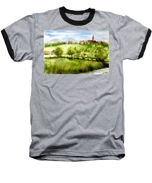 A View From Tuscany Baseball T-Shirt