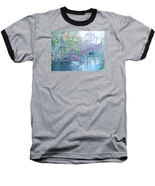 A View Of Autumn Baseball T-Shirt by Kay Gilley