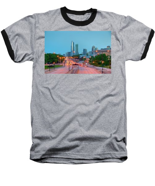 A View Of Columbus Drive In Chicago Baseball T-Shirt