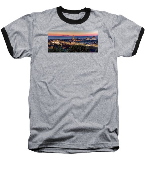 A View Of Florence Baseball T-Shirt