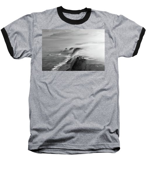 Baseball T-Shirt featuring the photograph A View Of Gods by Jorge Maia