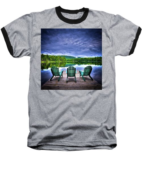 Baseball T-Shirt featuring the photograph A View Of Serenity by David Patterson