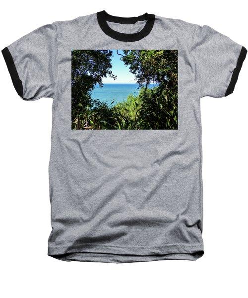 A View Of The Atlantic Ocean Baseball T-Shirt