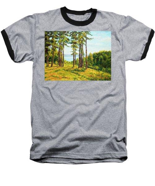 A View To The Lake Baseball T-Shirt