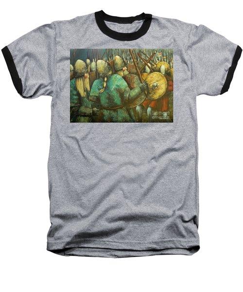 A Viking Skirmish Baseball T-Shirt