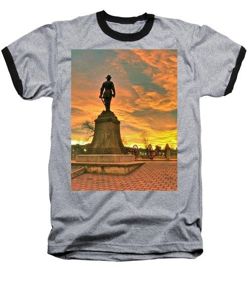 A Vmi Sunset Baseball T-Shirt