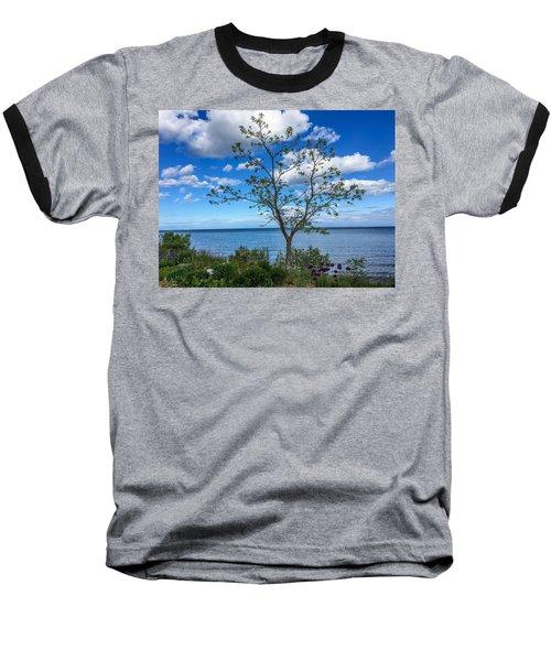A Walk Along Lake Michigan Baseball T-Shirt
