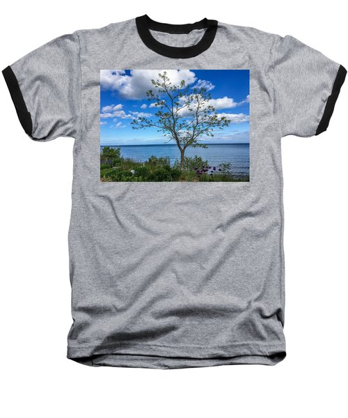 A Walk Along Lake Michigan Baseball T-Shirt