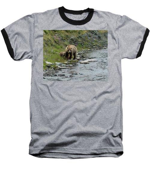 A Walk Along The Creek Baseball T-Shirt