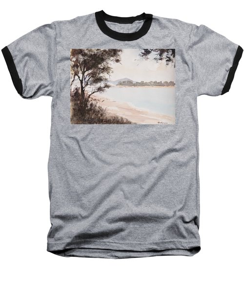 A Walk Along The Riverside Baseball T-Shirt