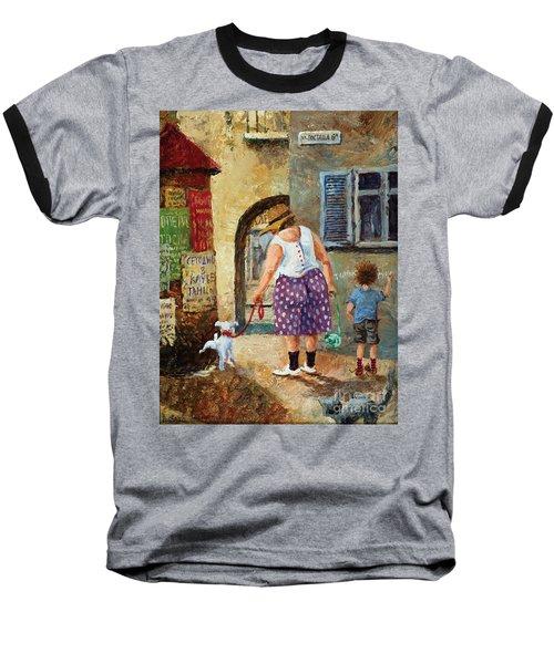 A Walk Down Memory Line Baseball T-Shirt