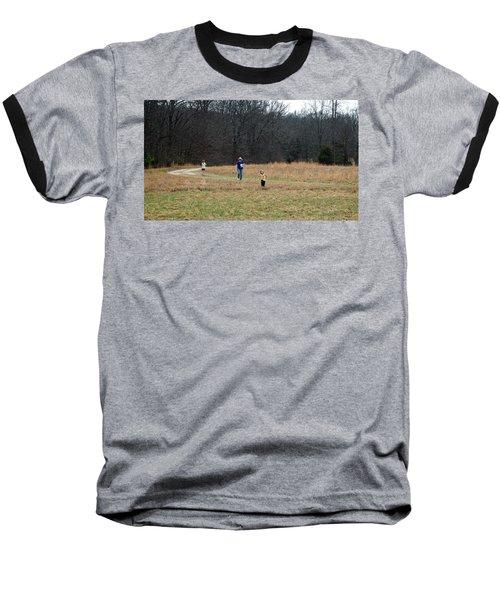 A Walk In A Field Baseball T-Shirt