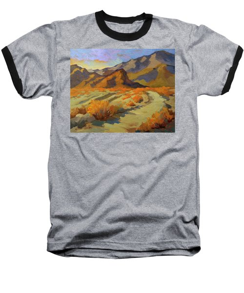 A Walk In La Quinta Cove Baseball T-Shirt by Diane McClary