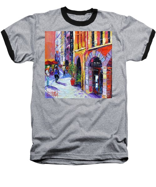 A Walk In The Lyon Old Town Baseball T-Shirt