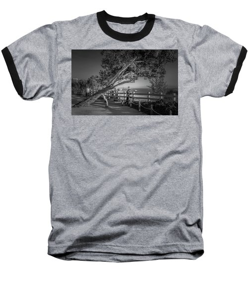 A Walk In The Park B And W Baseball T-Shirt